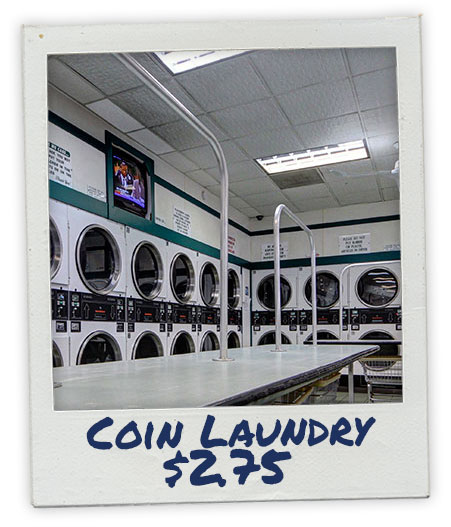 Coin Laundry Service - $2.75